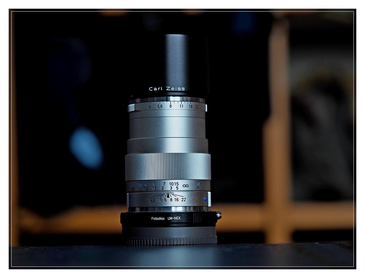 Carl Zeiss Tele-Tessar T* 85 f4 ZM