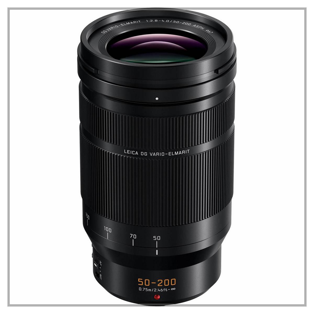 Panasonic Leica DG Vario-Elmarit Professional Lens 50-200 f2.8-4.0 ASPH
