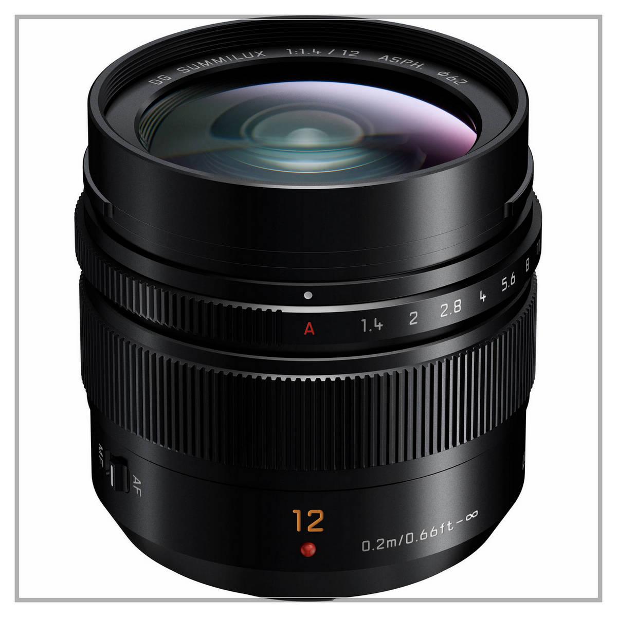 Panasonic Leica DG Summilux 12 f1.4 DG Micro Aspherical