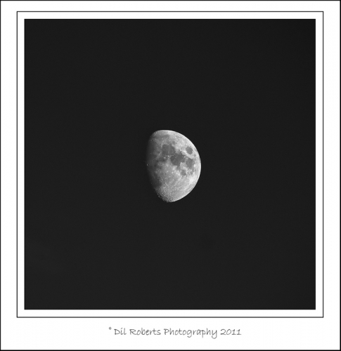 Olympus mZD 75-300 Shoots the Moon