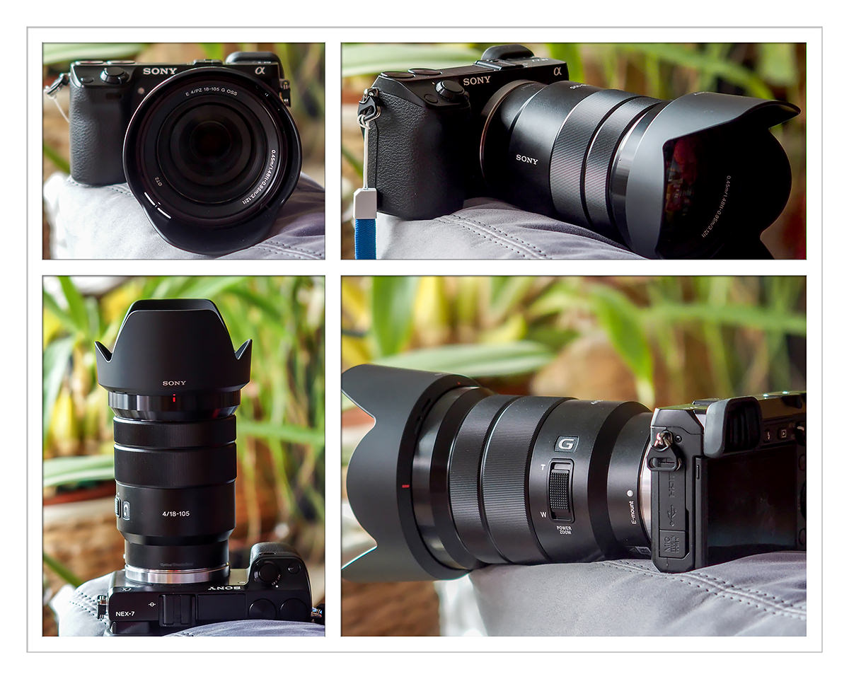 Sony E 18-105 f4 G OSS on Sony Nex 7
