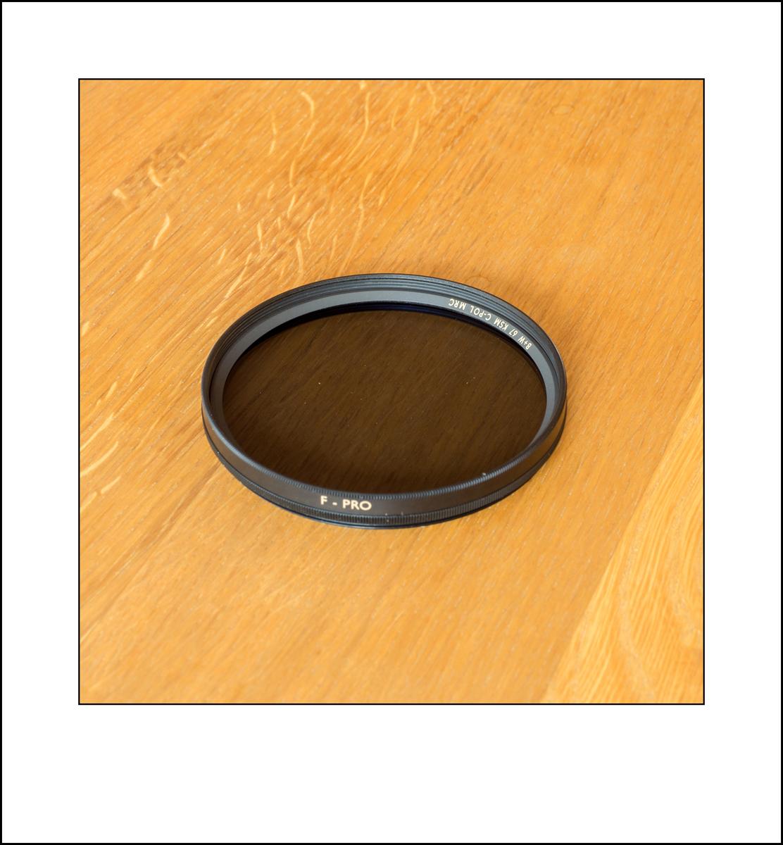 B + W Circular Pol Filter